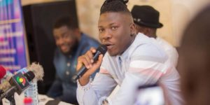 VIDEO: I fear Kumi Guitar, its dangerous to have him at my backstage - Stonebwoy