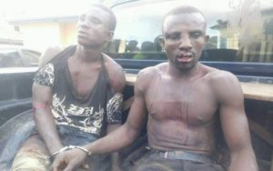 PHOTOS: 2 beaten to the pulp, arrested for stealing 15 sheep and 7 goats
