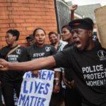 Uganda activists dump coffins outside parliament to protest murders
