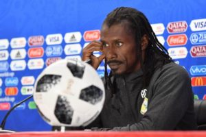 2018 World Cup: Senegal Coach Aliou Cisse blasts defence in draw against Japan