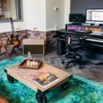 This cool hotel is also a cool music studio