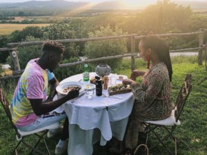 PHOTOS: Mr Eazi takes his billionaire heiress girlfriend on a Romantic Holiday in Italy