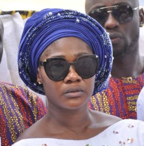 PHOTOS: Nigerian actress Mercy Johnson holds burial rites for late mother