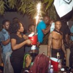 PHOTOS: Wizkid, Tiwa Savage, Shatta Wale, Others party at popular Accra hangout