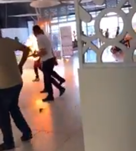 VIDEO: Mobile phone explodes in man's pocket setting him on fire