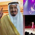 VIDEO: Saudi king sacks country's head of entertainment after event featured female performers in tight costumes