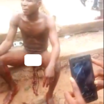 GRAPHIC VIDEO: Man cuts off rival's genitals; vows to cook and eat the penis