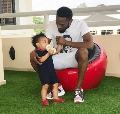 SAD! Sarkodie, Davido, Tonto Dikeh, Others mourn with D'banj as he loses 1 year old son