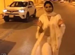 PHOTOS/VIDEO: Saudi Arabian female TV presenter flees country as authorities launch investigation into 'indecent' dress