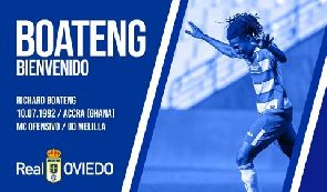 OFFICIAL: Richard Boateng completes Real Oviedo switch