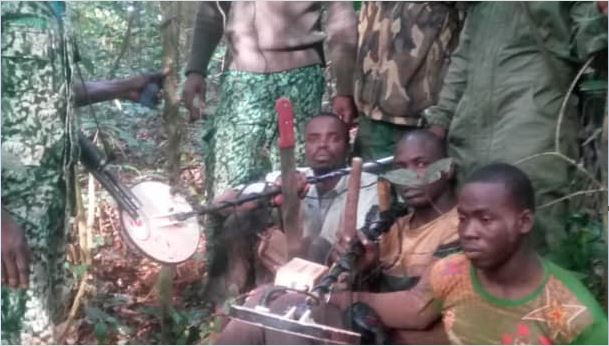4 jailed40 years for illegally mining in Atewa Forest
