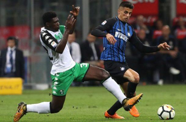 Inter Milan intensify persuit of Ghana midfielder Alfred Duncan