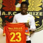 Ghanaian youngster Divine Naah joins Belgian club AFC Tubize on a permanent deal