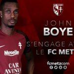 OFFICIAL: John Boye joins French Ligue 2 side FC Metz