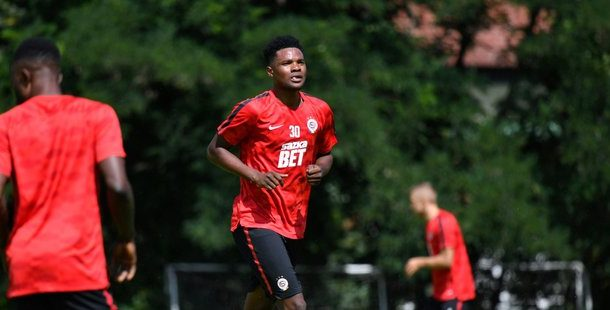 Benjamin Tetteh joins Sparta Prague training camp ahead of Bohemians exit