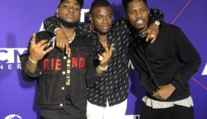 VIDEO: Kwesi Arthur with Davido & Big Shaq @ pre 2018 BET Awards event