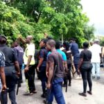 E/R : Armed Police storm NDC election grounds over  late ballot papers