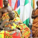 Okyenhene's convoy in car crash at Osino