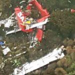 Crashed Kenyan plane found in forest