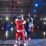 VIDEO: WizKid introduces Shatta Wale onto #GhanaMeetsNaija2018 stage