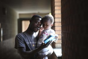 Ghanaian dad raises daughter alone in Canada after wife deported back to Ghana