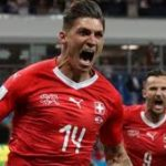 Swiss hold favourites Brazil after Coutinho stunner