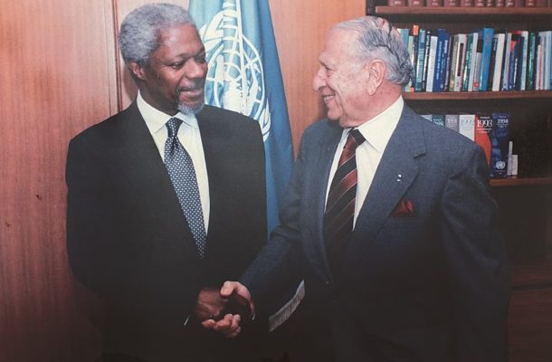 Former Pakistan ambassador to Ghana Jamsheed Marker passes away