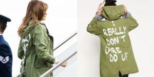"""Trump jumps to Melania's defense; says jacket was aimed at """"fake news media"""""""