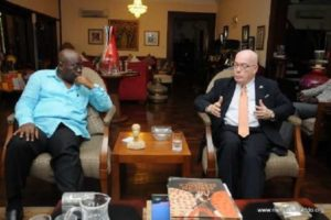 Gov't meets US Ambassador over deportation threats