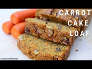 VIDEO: Watch this tutorial for a moist & delicious carrot cake