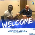 Albanian side KF Tirana sign Ghana defender Vincent Atinga on a three year deal
