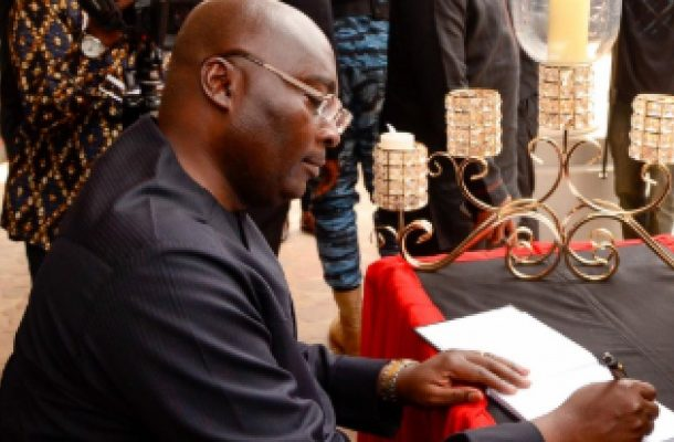 Veep Bawumia eulogizes his mentor JH Mensah; says he was Ghana's best economist