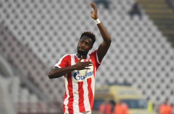 Richmond Boakye-Yiadom set for Red Star Belgrade loan return