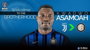 OPINION: Kwadwo Asamoah- The Most Underrated Yet Most Important Signing