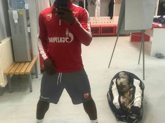 Rashid Sumaila joins Red Star pre-season training in Austria