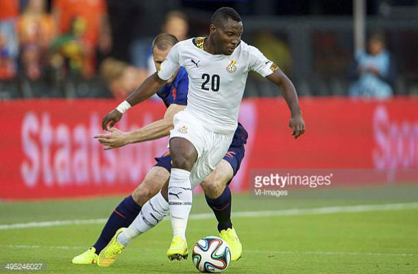 Inter Milan star Kwadwo Asamoah confirms Black Stars return