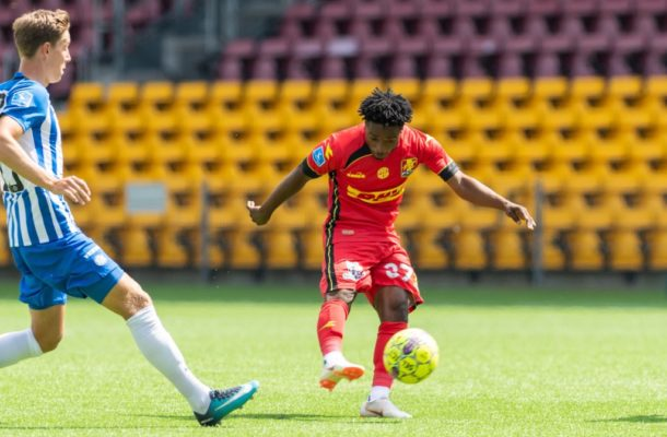 Ghana youth star Ibrahim Sadiq marks Danish Superliga debut in Nordsjaelland draw
