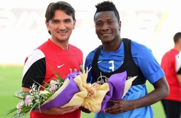 Gyan congratulates former Al Ain boss Zlatko Dalić for steering Croatia to a second-place finish