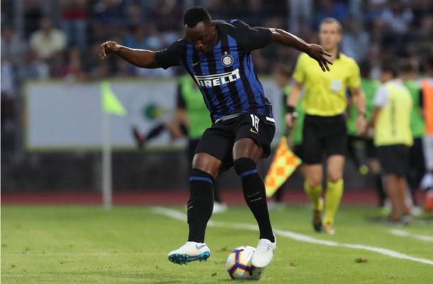 Kwadwo Asamoah makes Inter debut in friendly win over Lugano