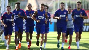 VIDEO: Partey continues to build fitness in Atletico Madrid pre-season camp