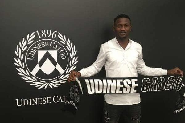 OFFICIAL: Udinese snap up Ghanaian defender Nicholas Opoku