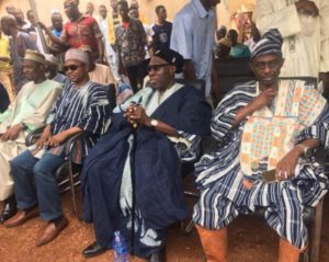 PHOTOS: General Mosquito spot on with his smock at funeral up-north