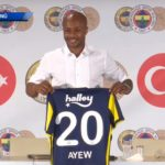 Andre Ayew handed jersey No.20 at Fenerbahçe