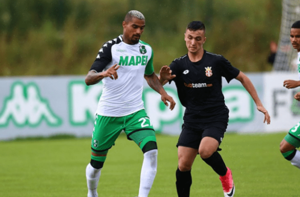 Red-hot Kevin Prince Boateng nets brace in Sassoulo win over Real Vicenza