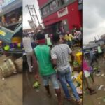 Ashaiman: Taskforce clears traders from street after gory accident