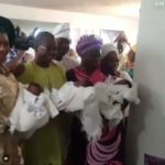 PHOTOS: Couple welcome a set of triplets after 20 years of marriage