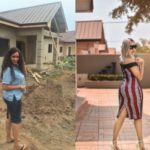 From refugee to celebrity: Juliet Ibrahim shares touching story as she completes new building