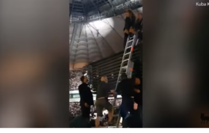 VIDEO: Beyonce embarrassed as she was rescued by ladder after stage malfunction left her stranded