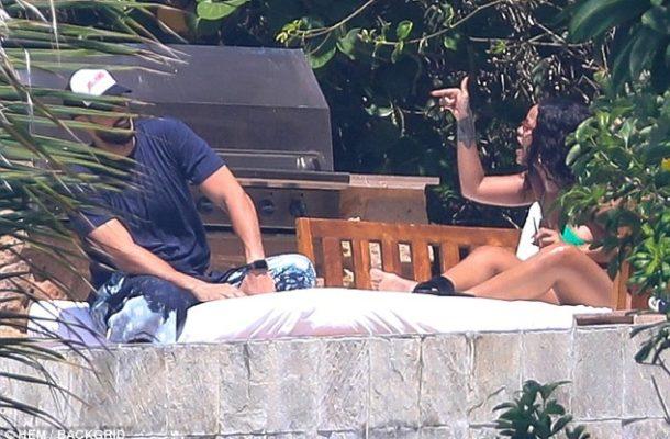 PHOTOS: Rihanna caught on camera in heated argument with billionaire ex boyfriend, Hassan Jameel