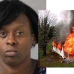 BIZZARE: Woman sets house on fire because she was not invited to a party